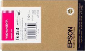 EPSON ORIGINAL - Epson T6053 Vivid Magenta (110ml) Cartouche de marque