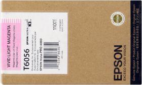 EPSON ORIGINAL - Epson T6056 Magenta Clair (110ml) Cartouche de marque