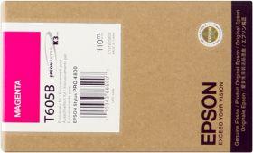EPSON ORIGINAL - Epson T605B Magenta (110ml) Cartouche de marque