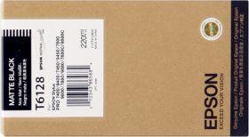 EPSON ORIGINAL - Epson T6128 Noir Mat (220 ml) Cartouche de marque