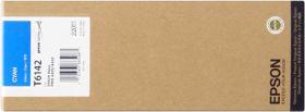 EPSON ORIGINAL - Epson T6142 Cyan (220ml) Cartouche de marque
