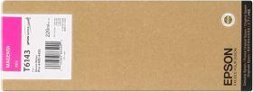 EPSON ORIGINAL - Epson T6143 Magenta (220ml) Cartouche de marque
