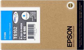 EPSON ORIGINAL - Epson T6162 Cyan (3500 pages) Cartouche de marque