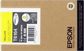EPSON ORIGINAL - Epson T6164 Jaune (3500 pages) Cartouche de marque