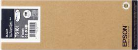 EPSON ORIGINAL - Epson T6181 Noir XXL (8000 pages) Cartouche de marque
