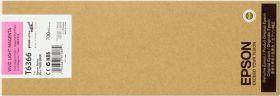 EPSON ORIGINAL - Epson T6366 Magenta clair (700ml) Cartouche de marque