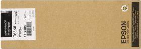 EPSON ORIGINAL - Epson T6368 Noir Mat (700ml) Cartouche de marque