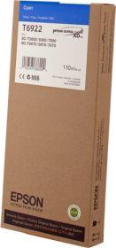 EPSON ORIGINAL - Epson T6922 Cyan (110ml) Cartouche de marque