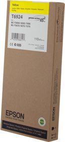EPSON ORIGINAL - Epson T6924 Jaune (110ml) Cartouche de marque