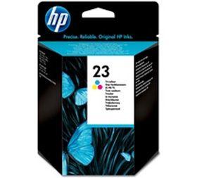 HP ORIGINAL - HP 23 / C1823D Couleurs (30 ml) Cartouche de marque
