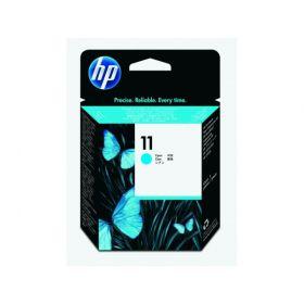 HP ORIGINAL - HP 11 / C4811A Cyan Tête impression de marque