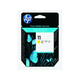 HP ORIGINAL - HP 11 / C4813A Jaune Tête impression de marque