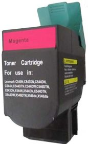 RECYCLE LEXMARK - C540H1MG Magenta (2000 pages) Toner remanufacturé Haute Qualité