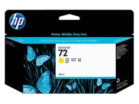 HP ORIGINAL - HP 72 / C9373A Jaune (130 ml) Cartouche de marque