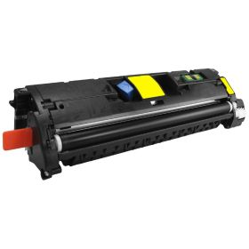 RECYCLE HP - 121A Jaune (4000 pages) Toner remanufacturé