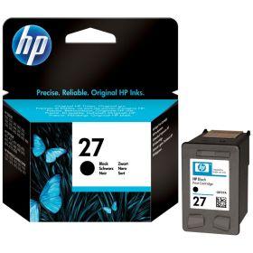 HP ORIGINAL - HP 27 / C8727AE Noir (10 ml) Cartouche de marque