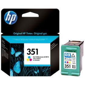 HP ORIGINAL - HP 351 / CB337EE Couleur (3,5 ml) Cartouche de marque