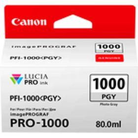 CANON ORIGINAL - Canon PFI-1000 Photo Gris (80 ml) Cartouche de marque