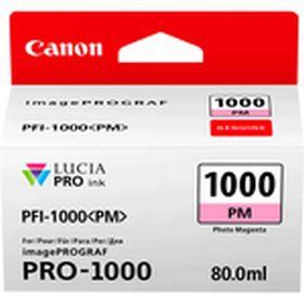 CANON ORIGINAL - Canon PFI-1000 Photo Magenta (80 ml) Cartouche de marque