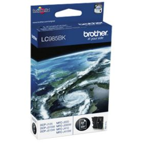 BROTHER ORIGINAL - Brother LC-985 Noire (300 pages) Cartouche de marque