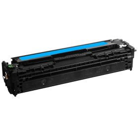 COMPATIBLE HP - 125A / CB541A Cyan (1400 pages) Toner remanufacturé
