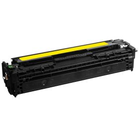 COMPATIBLE HP - 125A / CB542A Jaune (1400 pages) Toner remanufacturé