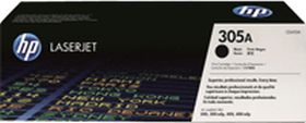 HP ORIGINAL - HP 305A / CE410A Noir (2200 pages) Toner de marque