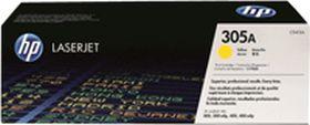 HP ORIGINAL - HP 305A / CE412A Jaune (2600 pages) Toner de marque