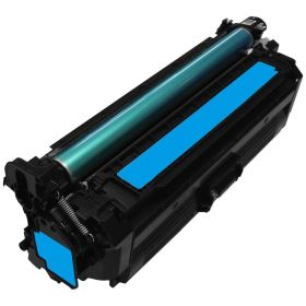 RECYCLE HP - 646A / CF031A Cyan (12500 pages) Toner remanufacturé avec puce