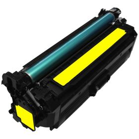 RECYCLE HP - 646A / CF032A Jaune (12500 pages) Toner remanufacturé avec puce