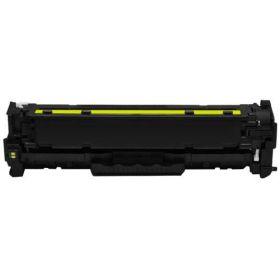 COMPATIBLE HP - 131A / CF212A Jaune (1800 pages) Toner remanufacturé avec puce