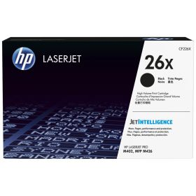 HP ORIGINAL - HP 26X / CF226X Noir (9000 pages) Toner de marque en promotion