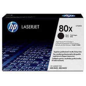 HP ORIGINAL - HP 80X / CF-280X Noir (6900 pages) Toner de marque