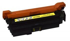 RECYCLE HP - 654A / CF-332A Jaune (15000 pages) Toner remanufacturé avec puce
