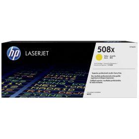 HP ORIGINAL - HP 508X / CF-362X Jaune (9500 pages) Toner de marque