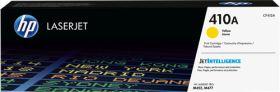 HP ORIGINAL - HP 410A / CF-412A Jaune (2300 pages) Toner de marque