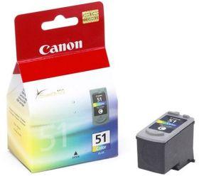 CANON ORIGINAL - Canon CL51 couleurs (21 ml) Cartouche de marque