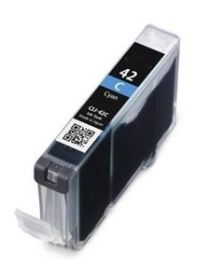 COMPATIBLE CANON - CLI-42 Cyan (13 ml) Cartouche générique