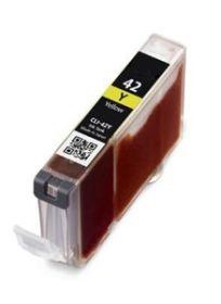 COMPATIBLE CANON - CLI-42 Jaune (13 ml) Cartouche générique