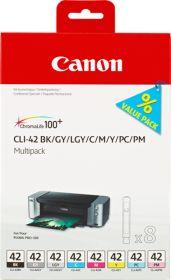 CANON ORIGINAL - Canon CLI-42 Pack de 8 cartouches de marque 6384B010