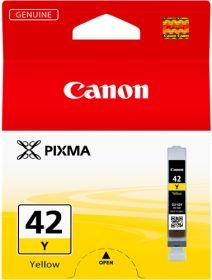 CANON ORIGINAL - Canon CLI-42 Jaune (13 ml) Cartouche de marque