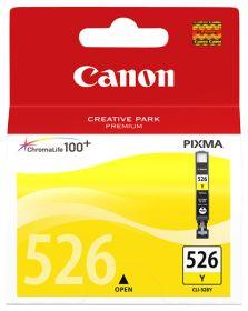 CANON ORIGINAL - Canon CLI-526 jaune Cartouche de marque 4543B001