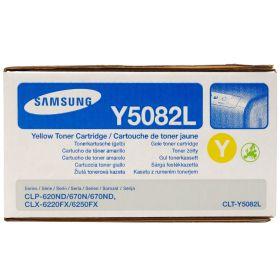 SAMSUNG ORIGINAL - Samsung Y5082L Jaune (4000 pages) Toner de marque