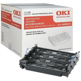 OKI ORIGINAL - OKI 44968301 (30000 pages) Noir, Cyan, Magenta, Jaune Tambour de marque