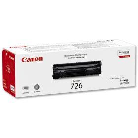 CANON ORIGINAL - Canon 726 Noir (2100 pages) Toner de marque