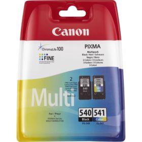 CANON ORIGINAL - Canon PG540 + CL541 Pack Eco de 2 cartouches noire + couleurs 5225B006