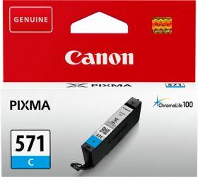 CANON ORIGINAL - Canon CLI-571 Cyan (7 ml) Cartouche de marque 0386C001