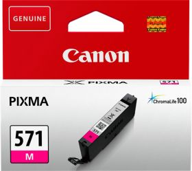CANON ORIGINAL - Canon CLI-571 Magenta (7 ml) Cartouche de marque 0387C001