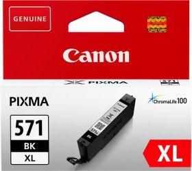CANON ORIGINAL - Canon CLI-571XL Noire (11 ml) Cartouche de marque 0331C001