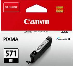 CANON ORIGINAL - Canon CLI-571 Noire (7 ml) Cartouche de marque 0385C001